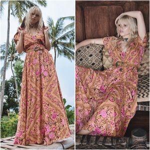 spell designs | amber babushka gown